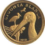1 Diner - Joan Enric Vives i Sicília (Cigonya Blanca) -  reverse