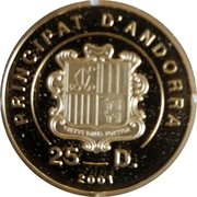 25 Diners (Christmas) -  obverse