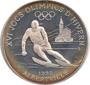 10 Diners (1992 Winter Olympics) -  reverse