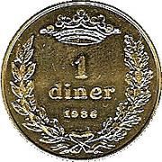 1 Diner - Joan Martí i Alanis -  reverse