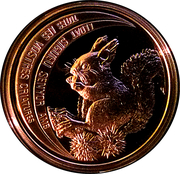 10 Diners - Joan Martí i Alanis (Red Squirrel) -  reverse