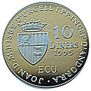 10 Diners - Joan Martí i Alanis (Council of Europe) -  obverse