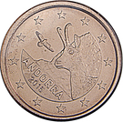 1 Euro Cent – obverse