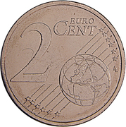 2 Euro Cent – reverse
