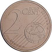 2 Euro Cent -  reverse