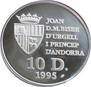10 Diners - Joan Martí i Alanis (Wolf) -  obverse