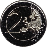2 Euro (The Pyrenean country) – reverse