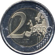 2 Euro (Constitution of the Principality of Andorra) – reverse
