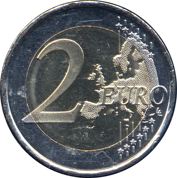 "Constitution of Italy/"" BiMetallic UNC Italy 2 euro 2018 /""70 years"