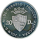20 Diners (Bear) – obverse