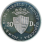 20 Diners (Red Squirrel) -  obverse