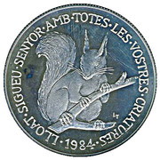 20 Diners (Red Squirrel) -  reverse
