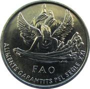 1 Cèntim (FAO) – reverse