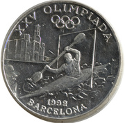 20 Diners (Jeux olympiques Barcelone 1992) – reverse