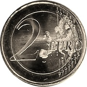 2 Euro (Final of the Alpine Ski World Cup) – reverse