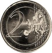 2 Euro (Final of the Alpine Ski World Cup) -  reverse