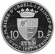 10 Diners - Joan Martí i Alanis (Treaty of Rome) -  obverse