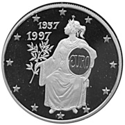 10 Diners - Joan Martí i Alanis (Treaty of Rome) -  reverse