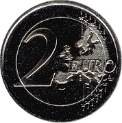 2 Euro (Anthem of Andorra) – reverse