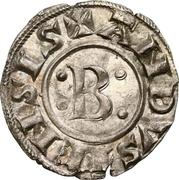 "Denier ""bernardin"" à la croix ancrée - Bernard II – obverse"