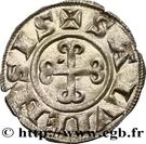 "Denier ""bernardin"" à la croix ancrée - Bernard II – reverse"