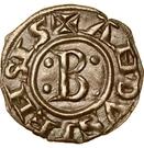 """Obole """"bernardine"""" à la croix ancrée - Bernard II – obverse"""
