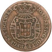 ½ Macuta - João Prince Regent -  obverse