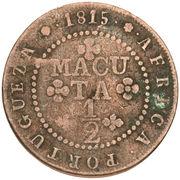 ½ Macuta - João Prince Regent -  reverse