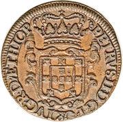 XX (20 Reis) - Pedro II (Porto mint) – obverse