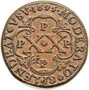 XX (20 Reis) - Pedro II (Porto mint) – reverse