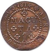 1 Macuta - João Prince Regent – reverse