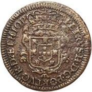 5 Reis - Pedro II – obverse