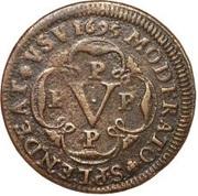 5 Reis - Pedro II -  reverse