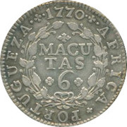 6 Macutas - José I -  reverse