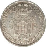 4 Macutas - Maria I & Pedro III -  obverse