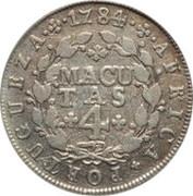 4 Macutas - Maria I & Pedro III -  reverse
