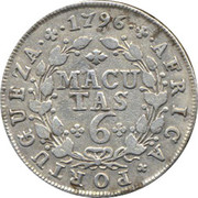 6 Macutas - Maria I -  reverse