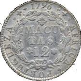 12 Macutas - Maria I -  reverse
