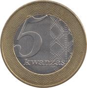5 Kwanzas -  reverse
