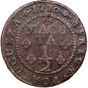 ½ Macuta - José I -  reverse