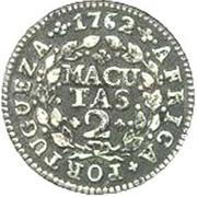 2 Macutas - José I -  reverse