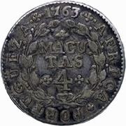 4 Macutas - José I -  reverse