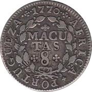 8 Macutas - José I – reverse
