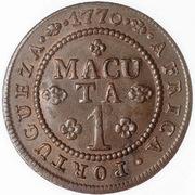 1 Macuta - José I -  reverse