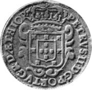 10 Reis - Pedro II – obverse