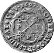 10 Reis - Pedro II – reverse