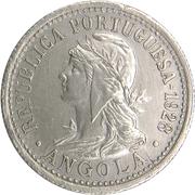 10 Centavos / 2 Macutas – obverse