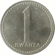 1 Kwanza – reverse