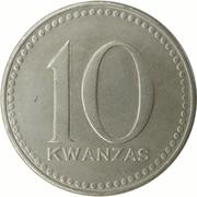 10 Kwanzas – reverse