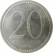 20 Kwanzas – reverse